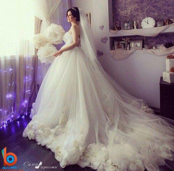 اجمل فساتين العرس