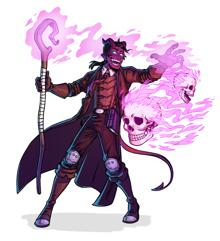 Tiefling Warlock Commission Characterdrawing Fantasy Character Design Character Design Inspiration Character Portraits Arguably better spell options for a warlock. tiefling warlock commission