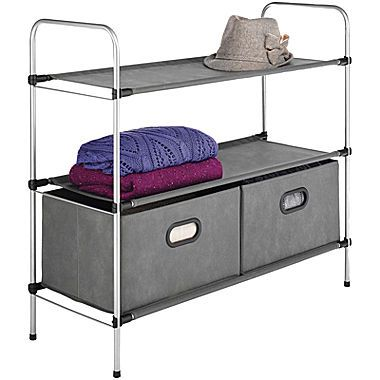 jcp | Sophisticate 3-Tier Shelf + Drawers