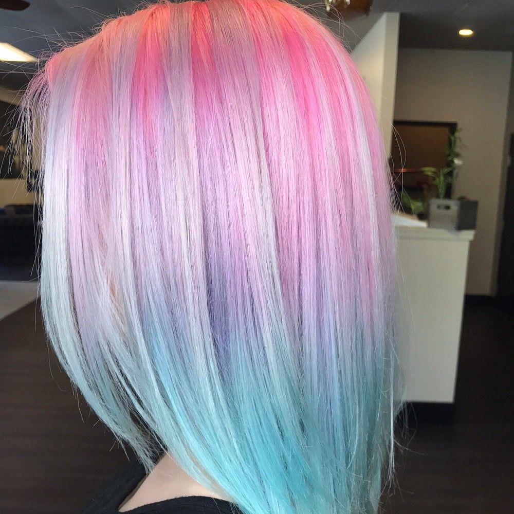 summer colorful hair ideas for daring girls beautiful hair uc