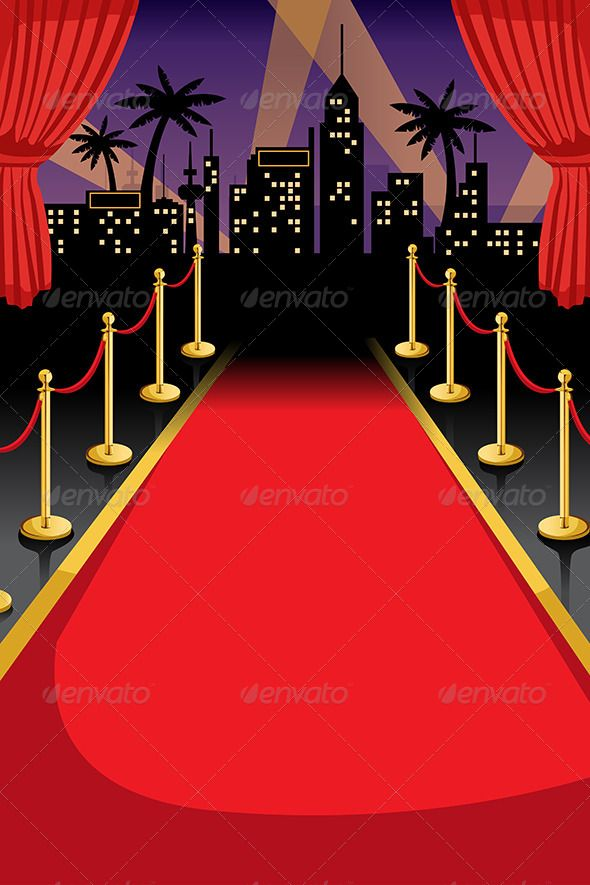 Red Carpet Red carpet background, Invitation templates and Red - prom ticket template