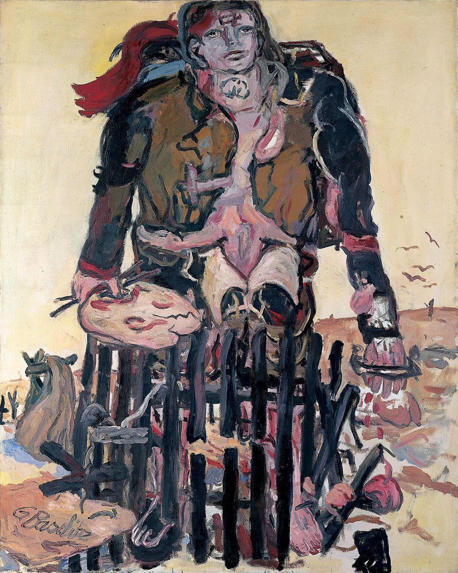 Georg Baselitz - Verschiedene Zeichen, 1965