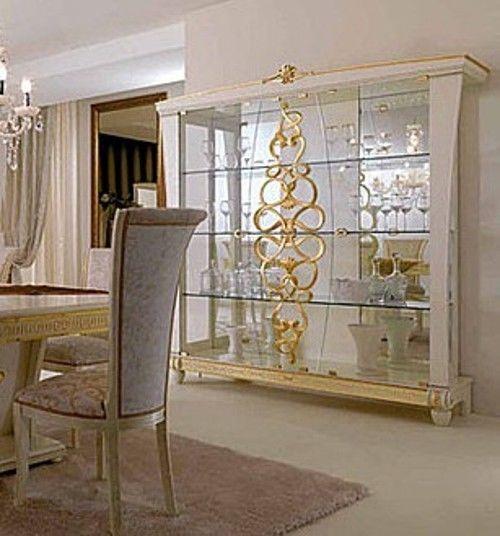 Luxus italienische Wohnzimmer Goccia. Möbelmontage. Kein