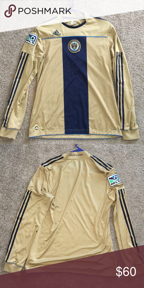 new product d6f43 6f18c Philadelphia Union Jersey Adidas Climacool MLS Jersey size L ...