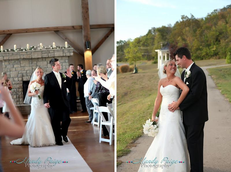 Rachel Michaels Ceremony Reception Were Held At The Muhlhauser Barn In West Chester
