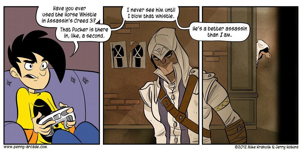 Assassin's Creed III: Assassin's Steed