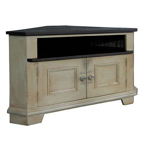French Country Corner Tv Stand Furniture Kate Madison