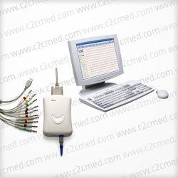 EDAN SE 1010  PC-based Edan ECG SE 1010 provides you an affordable and portable 12-channel ECG solution with powerful data analysis functions.