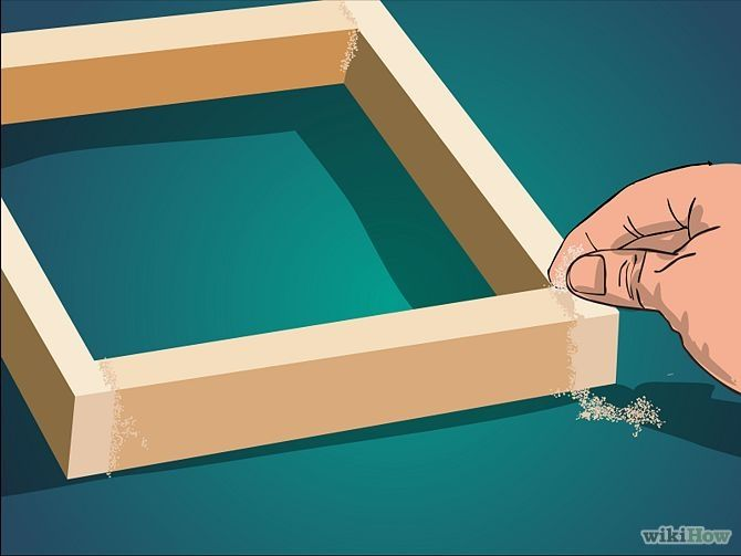 Make A Shadow Box Frame Home Wooden