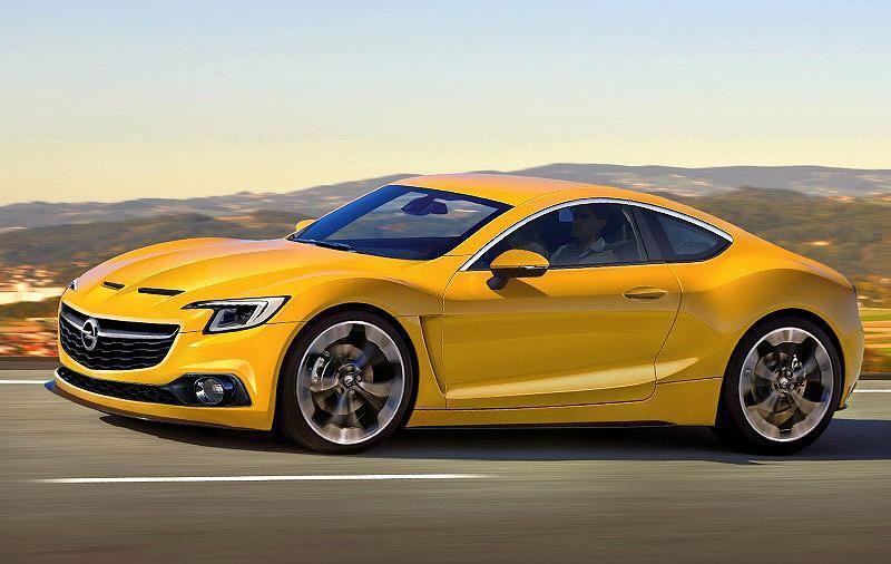 Schnittig Schnell Bezahlbar So Konnte Der Neue Opel Gt Aussehen Foto Opel Gt Bmw Z5 Sportwagen