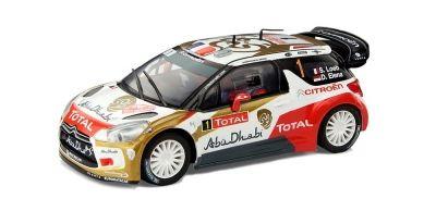 """Scalextric presenta el Citroën DS3 WRC """"Abu Dhabi"""" pilotado por el campeón Sébastien Loeb - Noticias sobre Coches, Novedades de Coches, Pruebas de Coches, Mecanica del Automóvil."""