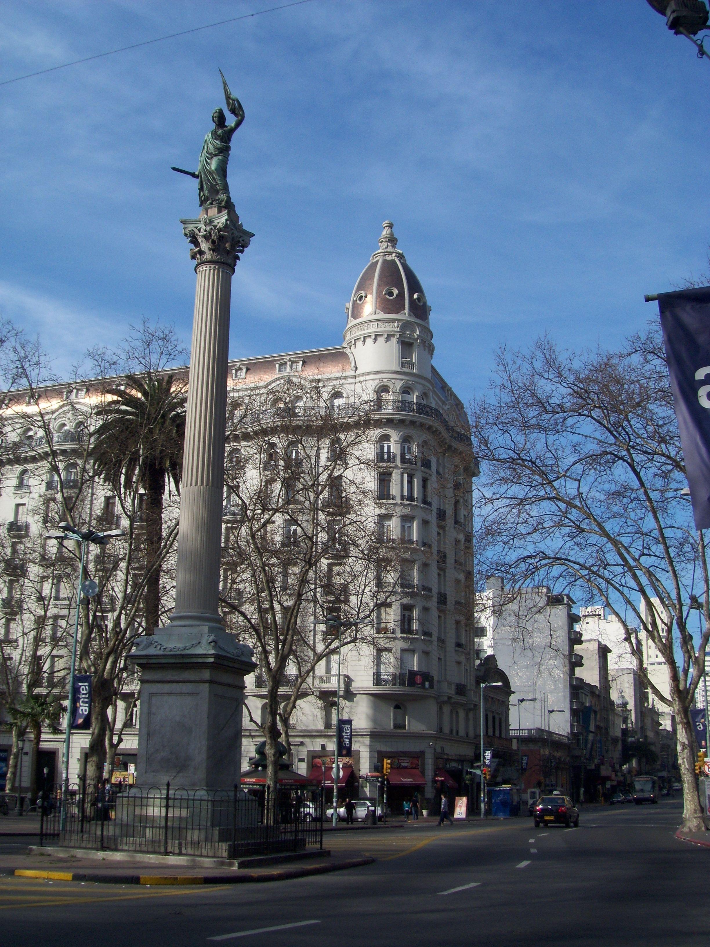 Plaza De Cagancha Montevideo Uruguay By Cacilda Amaral