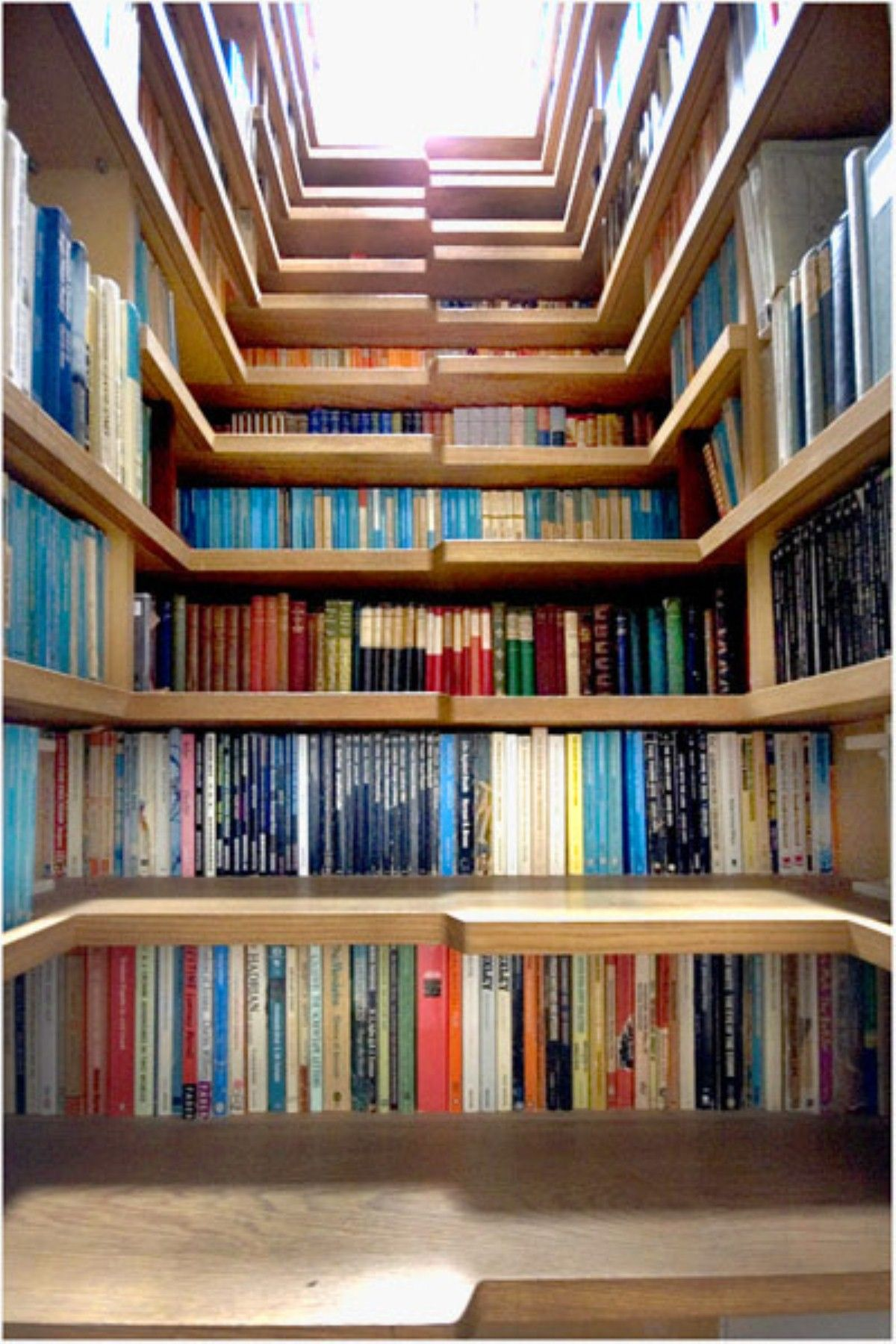 Genial Glorious Under Stairs Storage Pine Wood Unfinished For Book Storage Space  Saving Ideas As Decorate Small Home Library Design