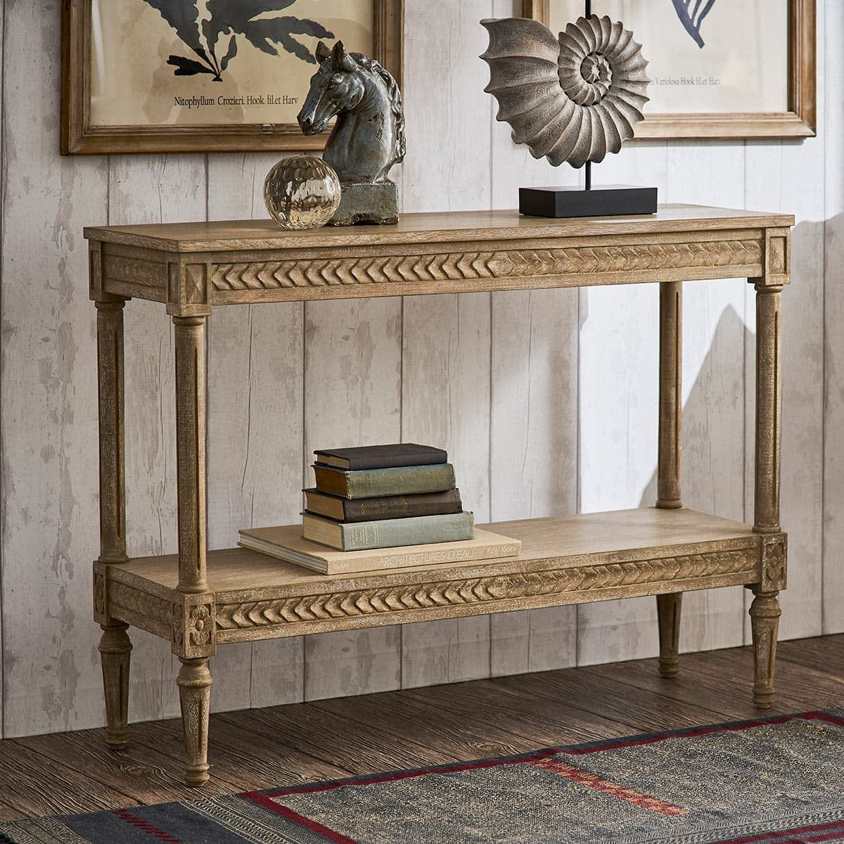 Castellau Console Table Natural Furniture Design Living Room Wooden Console Console Table