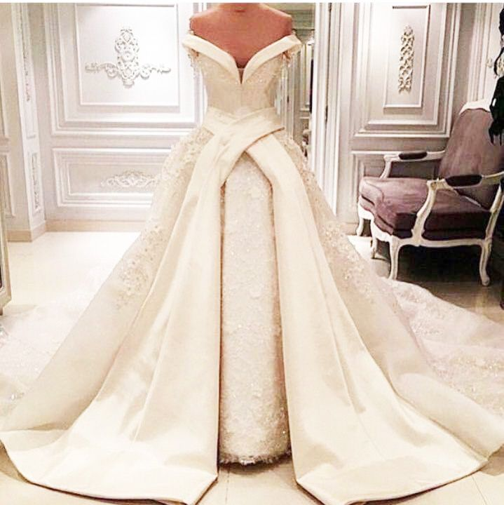 Wedding Dresses, Wedding Gown,Luxury Ball Gown Lace Wedding ...