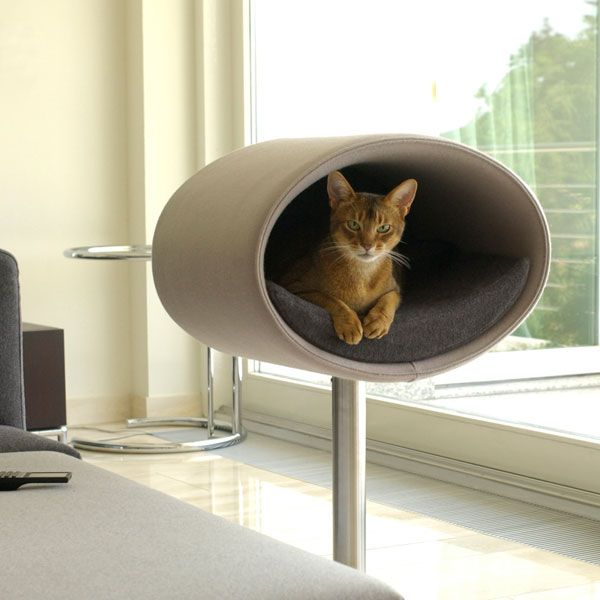 Rondo Stand Felt Cat Stand Katzenbett Kratzbaum Katzen Haus
