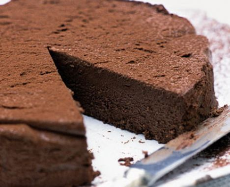 Chocolate & chestnut truffle torte | Recipe (With images ...