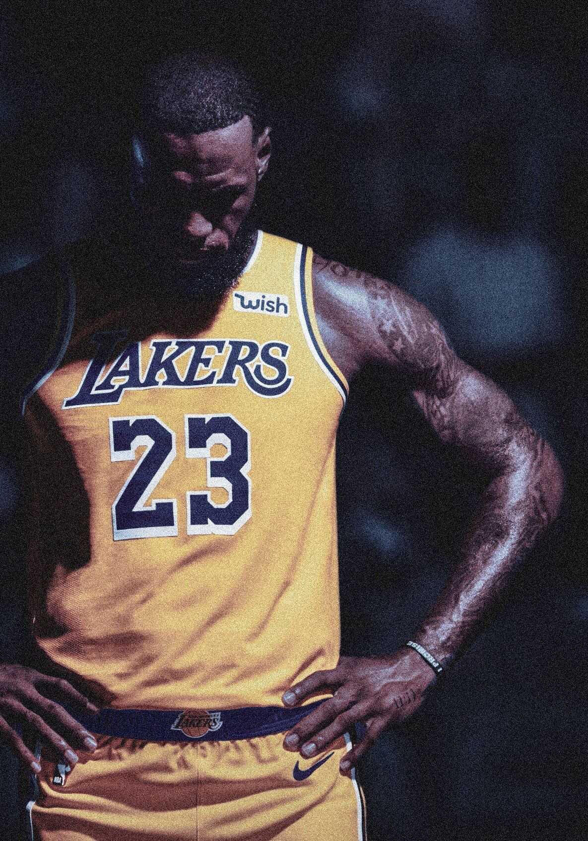 Wallpaper Hd Lebron James Lakers