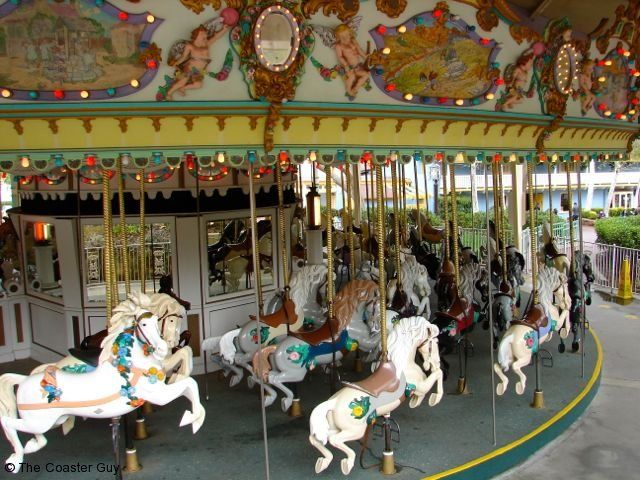 Six Flags Magic Mountain Grand Carousel - I must visit here
