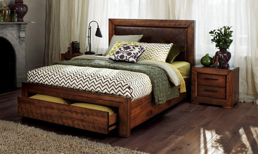 Aspen - Timber Queen Size Bed | Bedshed | Bedroom | Pinterest ...
