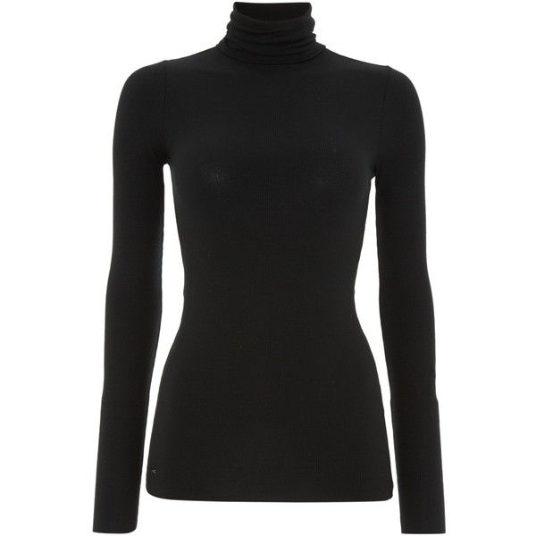 02c45f58e2e98f Polo Ralph Lauren Longsleeve Turtleneck (€82) ❤ liked on Polyvore featuring  tops