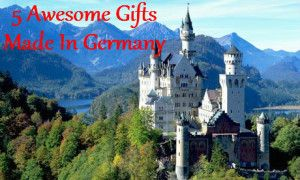 Products made in Germany - 5 awesome gifts made in Germany. #christmas #germany