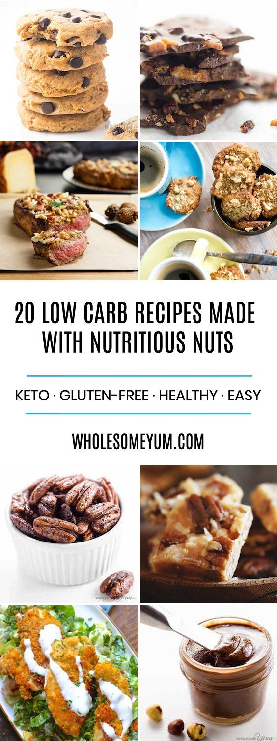 20 Low Carb Nut Recipes Filled With Nutrients Healthy Low Carb