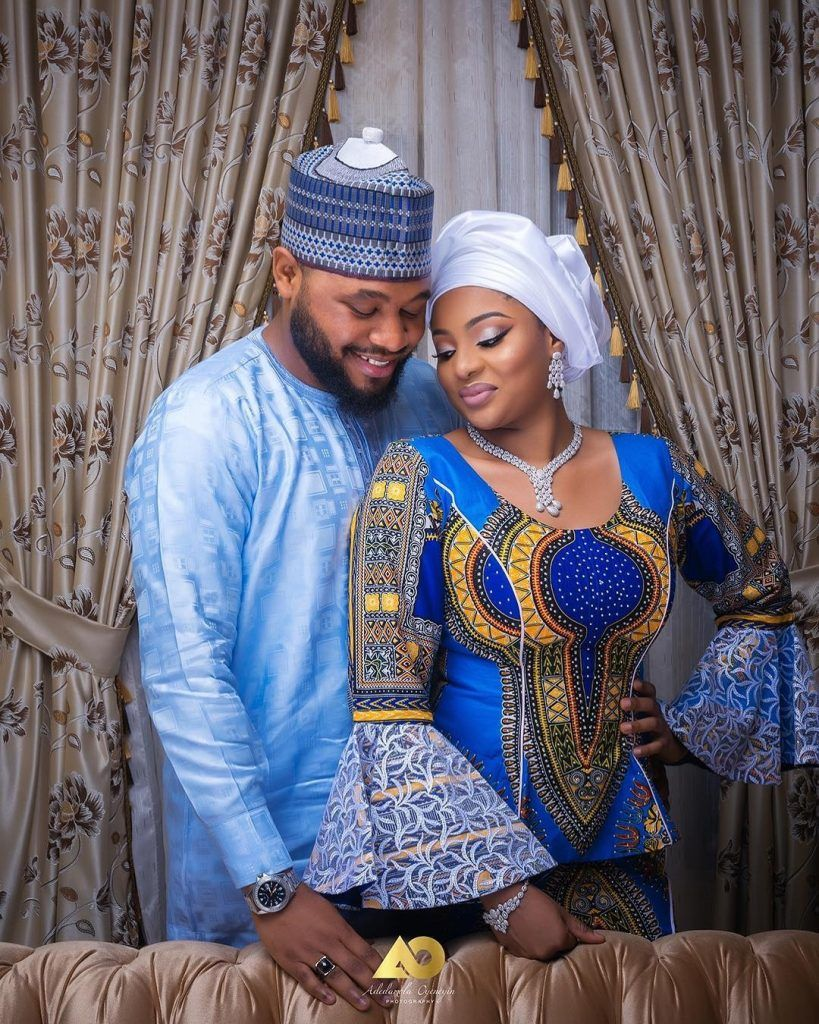 We simply cannot get enough of Hausa couples when it comes