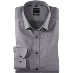 Olymp Level Five Hemd, body fit, Under-Button-down, Graphit, 40 Olympolymp – Business outfits