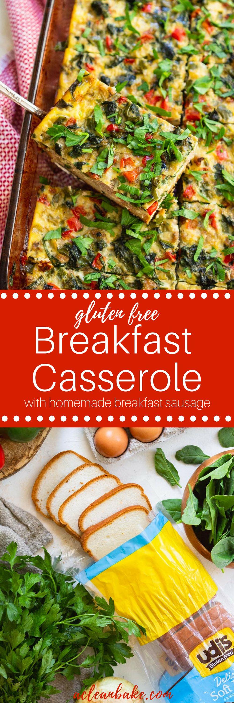 Easy gluten free breakfast casserole recipe gluten