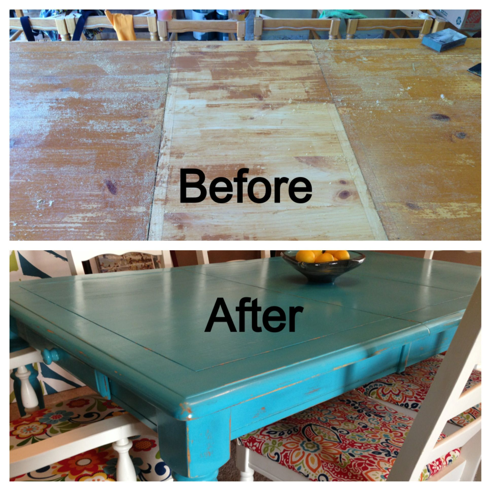 Refurbished Kitchen Table Ideas Part - 28: My New Refurbished Kitchen Table Took A Lot Of Time And Work But Its  Finally Finished