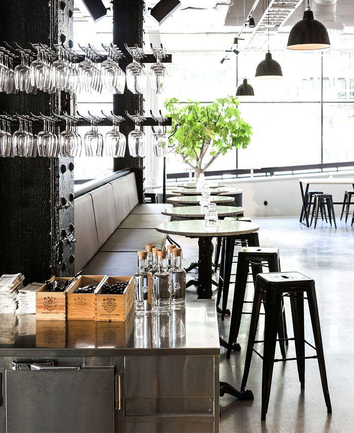 Scandinavian Inspired Minimalist Restaurant Decor Restaurant Decor Restaurant Interior Restaurant Design