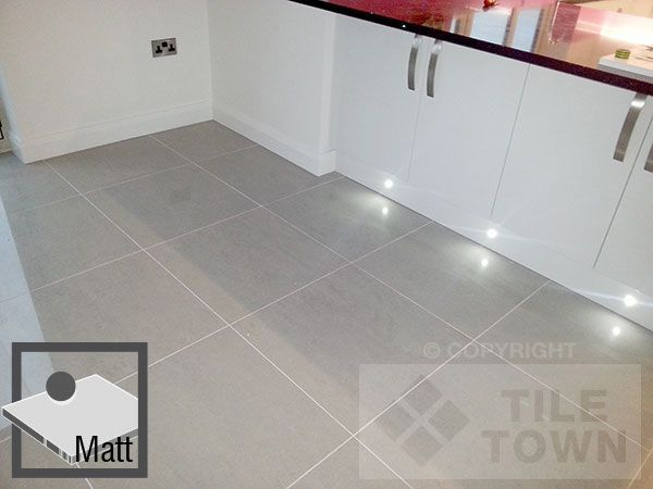 Lounge Light Grey Matt Porcelain Floor Tile Grey Tile Kitchen