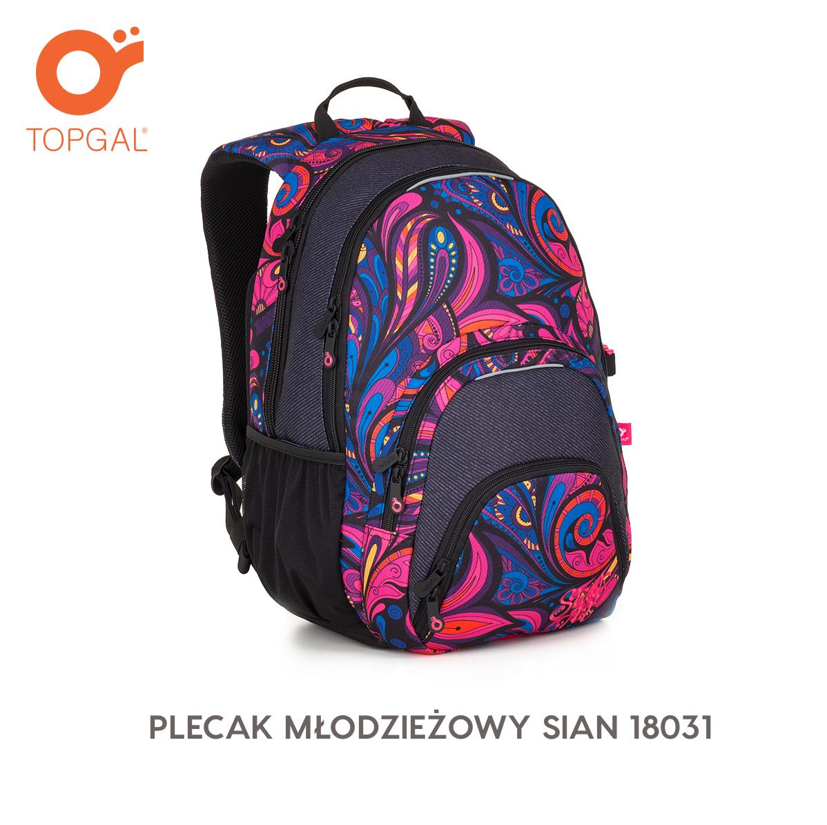 Plecak Mlodziezowy Sian 18031 Bags Backpacks Fashion