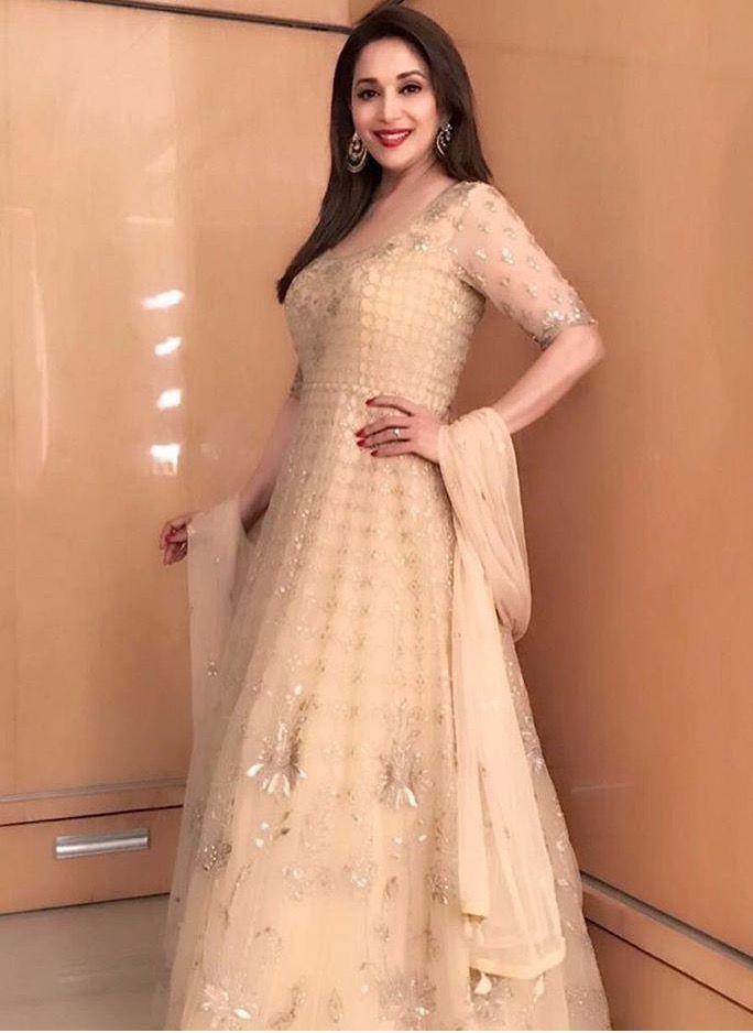 Anita dongre#madhuri # Indian wear # indo western # | The 40+ Indian ...