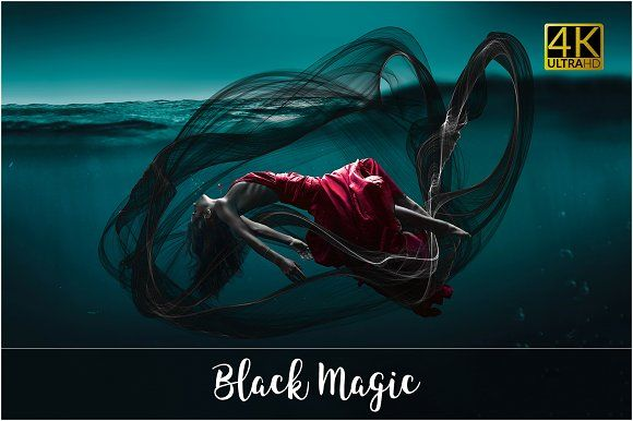 4k Black Magic Overlays Black Magic Overlays Photography Bundles