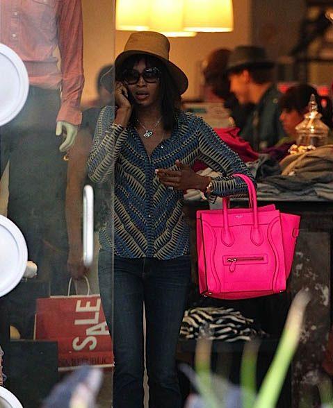 03eca1c55167 Celebrities and their Celine Luggage Totes  A Retrospective