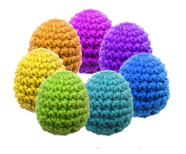 Life Size Egg ~ Free Amigurumi Pattern http://inskeinasylum.com ...