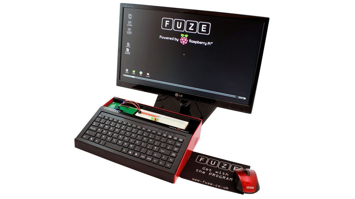 Fuze for Raspberry Pi review | More than just a case for your tiny computer, Fuze adds a board to connect and control electrical components. Reviews | TechRadar