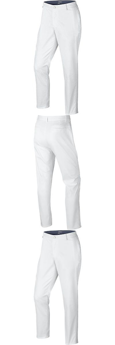 Pants 181137: Nike Golf Men S Modern Fit Washed Pants White Midnight Navy  Wolf Grey