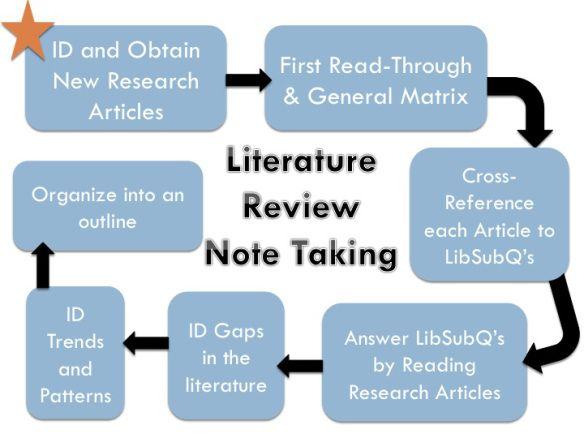 Literature Review Note Taking Model Scientific Writing Thesis