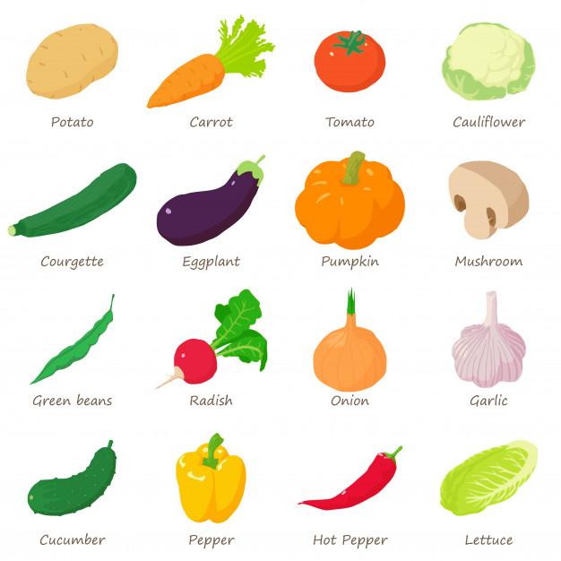 Food Illustration Isometric Google Search Icon Set Isometric Vegetables