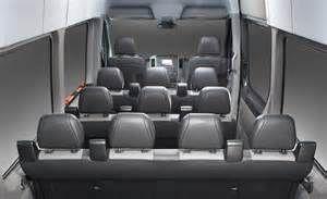Dodge Sprinter Passenger Van Interior