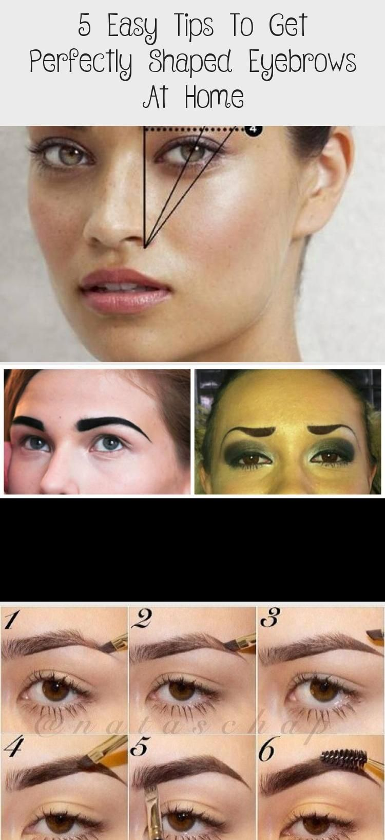 5 Easy Tips To Get Perfectly Shaped Eyebrows At Home ...