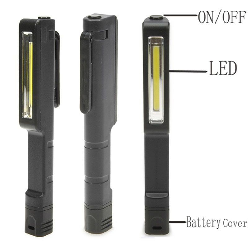 High Quality Led Mini Pen Light Inspection Light Lamp Pocket Clip Work Flashlight 4 Colors Light Flashlight Light Clips Flashlight