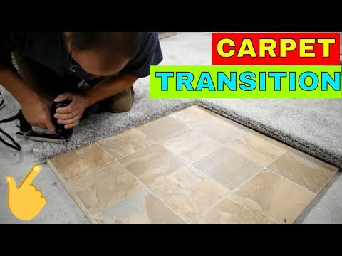 Best Carpet Transition Turn And Tack Youtube With Images 640 x 480