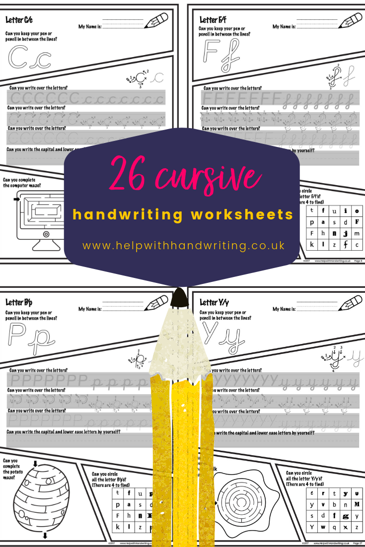 Write Cursive Letters And Solve The Puzzles Kids Handwriting Practice Kids Handwriting Teaching Handwriting [ 1102 x 735 Pixel ]