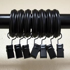 Lumino 7 Pack 1 In Steel Curtain Ring 85 9030 500 Curtains With