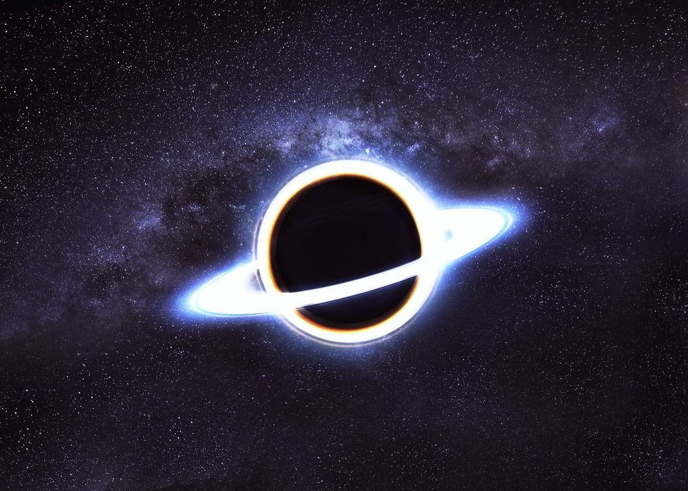 A White Hole Is A Hypothetical Feature Of The Universe It Is