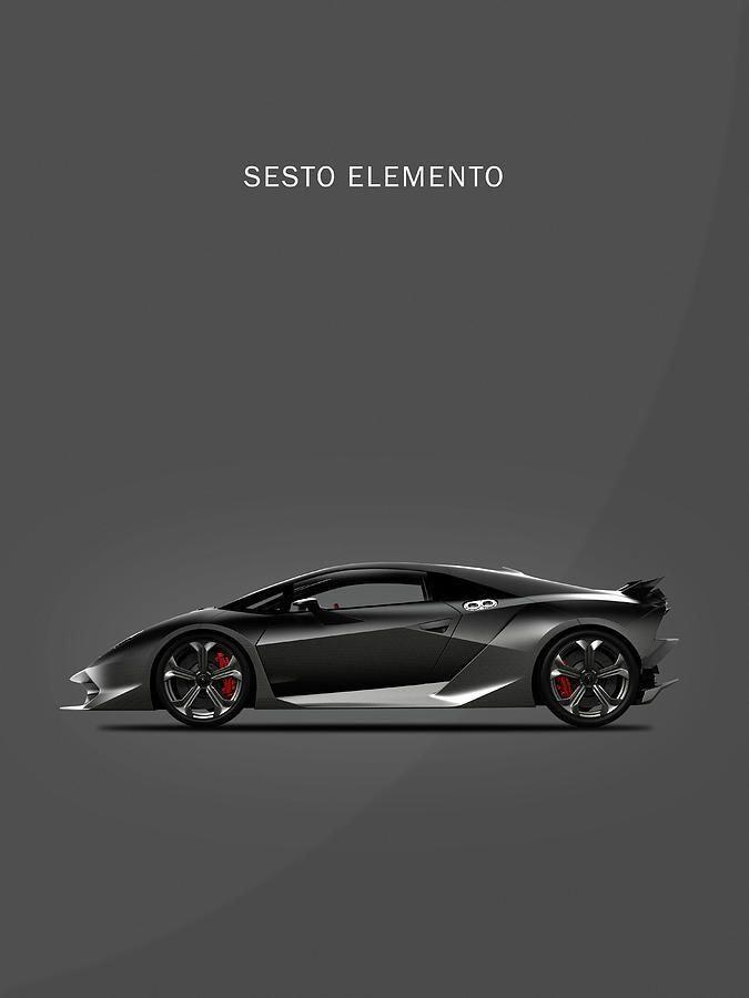 Lamborghini Sesto Elemento Photograph - The Sesto Elemento by Mark Rogan #newsportscars,luxurysportcar,newsportscars,nicesportscars,sportscarsbeautiful,supersportcar,bestsportscars,exoticcars,exoticcarsdreams,fastsports #lamborghinisestoelemento